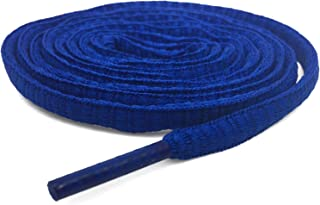 DANHUA Half Round Shoe Laces String, Athletic Oval Shoelaces for Sneakers 2 Pair