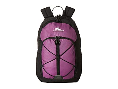 High Sierra Daio Backpack (Hyacinth/Black) Backpack Bags