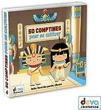 50 comptines pour cultiver l'enfant ( 2CD + Livret illustrè)