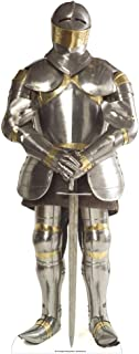 """Star Cutouts, Knight In Armor, Cardboard Cutout Standup, Prop Life-Size Stand-In - 72"""" x 30"""""""