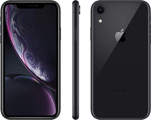 (Refurbished) Apple iPhone XR, US Version, 64GB, Black - Unlocked