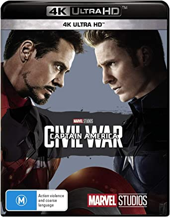 Captain America: Civil War (4K Ultra HD)