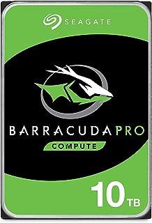 Seagate BarraCuda Pro, 10 TB, Disco duro interno de alto rendimiento, HDD, 3,5 in, SATA 6 Gb/s, 7200