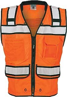 ML Kishigo S5004-5005 High Performance Surveyors Zipper Vest