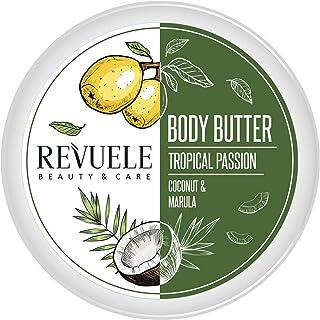 REVUELE BODY BUTTER TROPICAL PASSION Coco & Marula 200ml