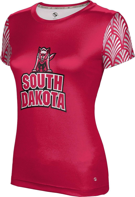 ProSphere University of South Dakota Girls' Performance T-Shirt (Deco)
