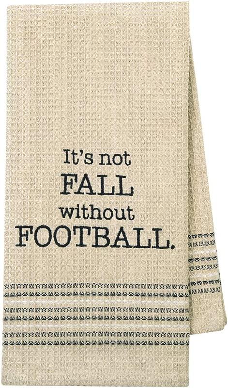 Mona B Funny Novelty Cotton Kitchen Dishtowel Fall Football Season
