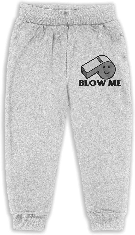 Maoyouuxian Blow Me Babies Toddler Boys'Cotton Jogger Slacks 2t-6 (5-6 Years)