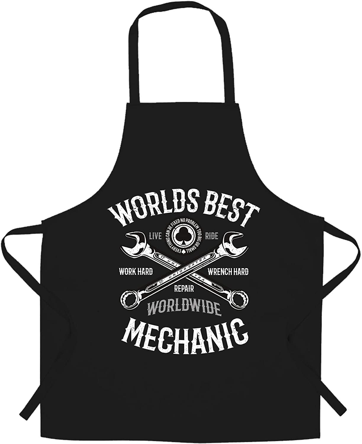World's Best supreme Courier shipping free shipping Mechanic Chef's Apron Auto Workshop Boss Garage Job