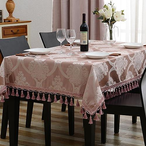 Küchenwäsche Tischdecke Rechteck europäischen Tee Tisch Eine Lange Tischdecke Wohnzimmer Tischdecken (Farbe   C, Größe   130  180cm)
