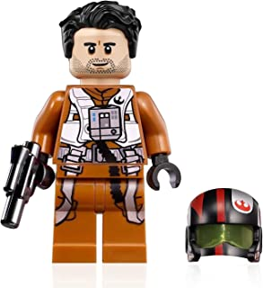 LEGO Star Wars Rise of Skywalker Minifigure - Poe Dameron X-Wing Pilot (with Helmet and Blaster) 75102