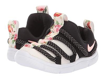 Nike Kids Novice VF (Infant/Toddler) (Pale Ivory/Pink Tint/Black/White) Girls Shoes