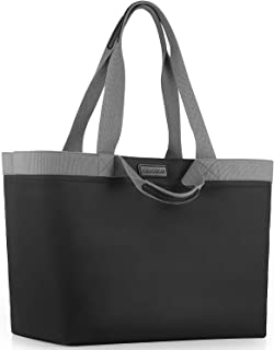 25L X-Large Tote Bag for Beach Pool Travel Grocery Bag - Waterproof Lining