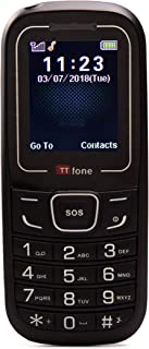 TTfone TT110 Cheap SOS Emergency Mobile Phone - Red