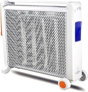 Radiador eléctrico MAHZONG Calentador eléctrico de 2,2 KW, Ajuste de Potencia de 2 velocidades, regulación de Temperatura