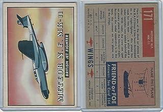 1952 Topps, Wings, 171 Meteor N.F. MK-11