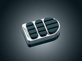 Kuryakyn 8029 Motorcycle Foot Control: ISO Brake Pedal Pad for 1984-2019 Harley-Davidson FX & XG Motorcycles, Chrome