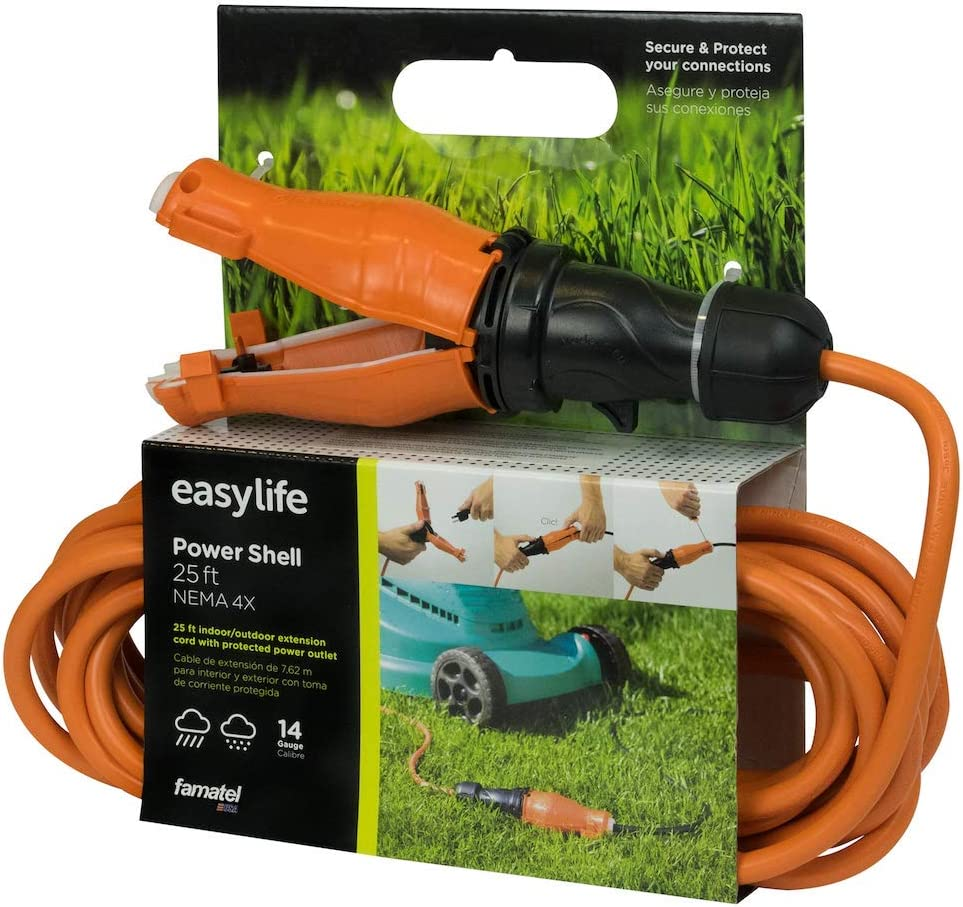 25 ft 5% OFF Outdoor Extension Cord Price reduction with Connector Protecto Safety Seal