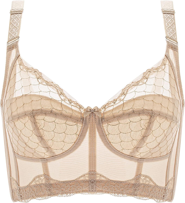 Overseas parallel import regular item JIANXINlh Plus Size Bra for Women Bralette New product!! Lace Balcone Wireless