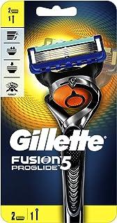 Gillette Fusion ProGlide men's razor with Flexball Handle Technology and 2 Razor Blade Refills, 2 count