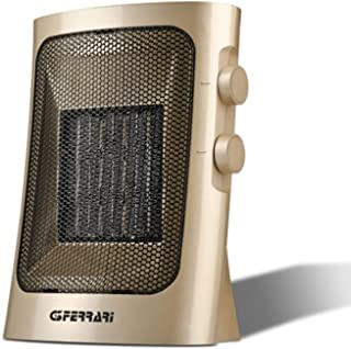 G3 Ferrari G60014 Fan electric space heater Interior Oro 1500 W - Calefactor (Fan electric space heater, Cerámico, Interior, Piso, Oro, 1500 W)