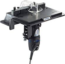 Dremel 231 Portable Rotary Tool Shaper and Router Table- Woodworking Attachment Perfect..