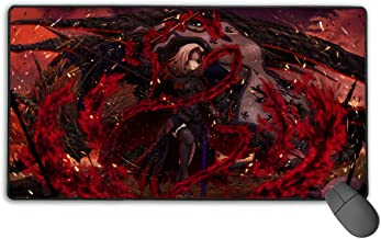 Computer Gaming Jeanne Alter Jeanne D'Arc Avenger Mouse Pad Mouse Mat Non-Slip Rubber Base New Mouse Pads for Computers Large Gaming (75Mmx40Mmx3Mm)