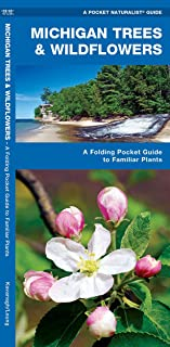Michigan Trees & Wildflowers: A Folding Pocket Guide to Familiar Plants (Wildlife and Nature Identification)