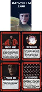 Star Trek Attack Wing The Q-Continuum Map Elements card set ~ Contain 4 different Q-Continuum Cards