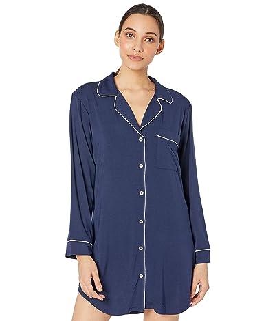 Eberjey Gisele Sleepshirt (Navy/Ivory) Women