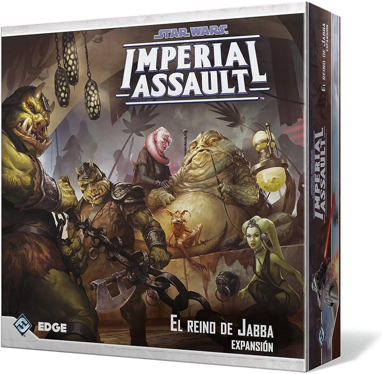 el estilo clásico Fantasy Flight Juegos-El El Reino Reino Reino de Jabba, colección Imperial Assault (FFSWI32)  mejor reputación