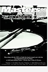 Masters of Time: For Drum Kit: 10 Original Tracks : Funk , Blues , Pop , Swing , Rega , Latin, 7/8 Rock , Motown , Hip Hop , Ballard (The Stick Bag Buddy) Paperback