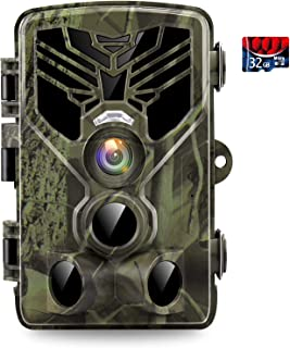 Trail Camera, 24MP 1520P Hunting Cameras with Night...