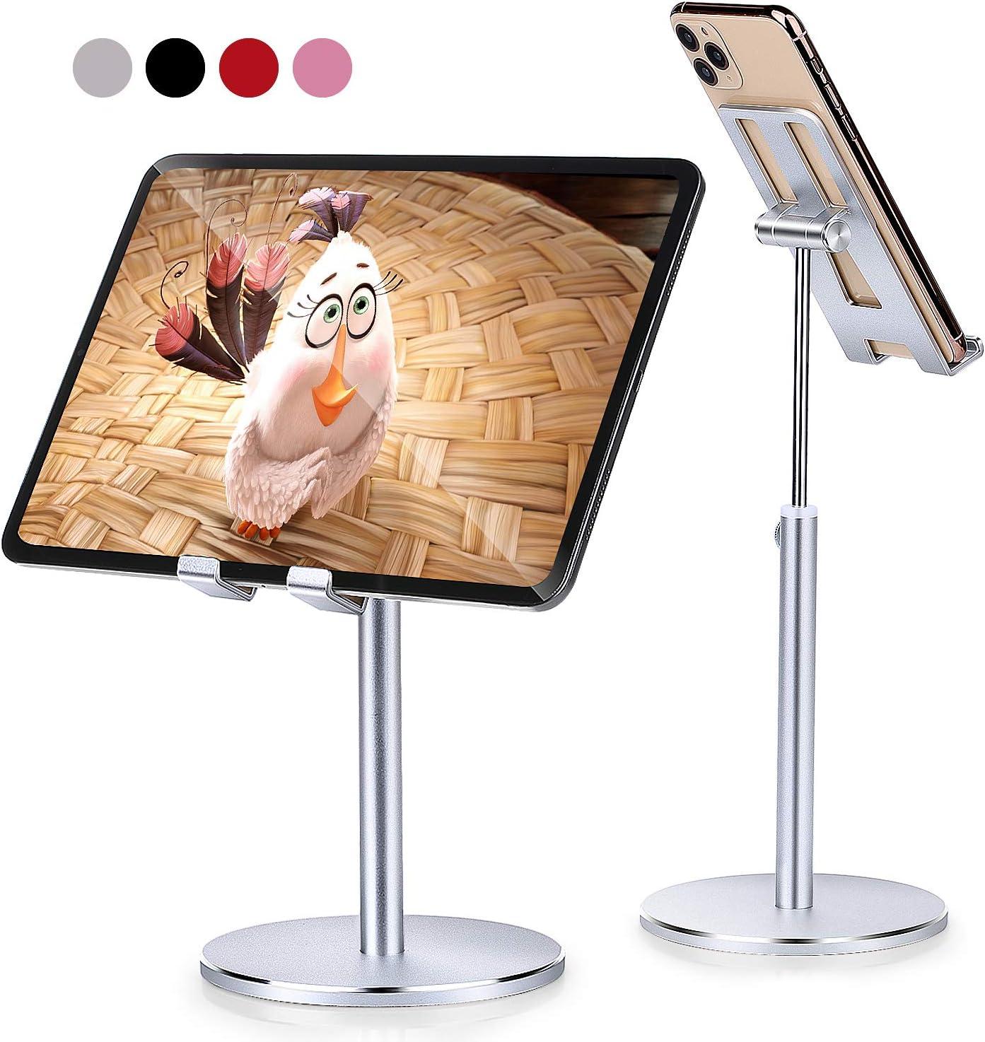 Phone Tablet Super intense SALE Stand Holder Aupek Angle half Adjustable Height Desktop