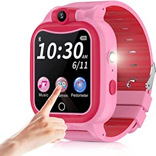 Sponsored Ad - Kids Smart Watch with Camera for Boys Girls, Touchscreen Kid Digital Sport SmartWatch with Music Pedometer ...