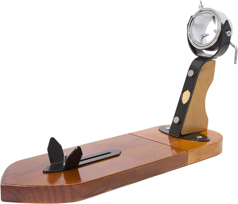 Jamonero Giratorio Modelo Profesional en madera y herrajes de primera calidad