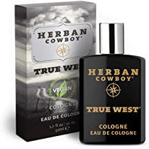 HERBAN COWBOY Cologne | Men's Cologne | No Parabens, No Phthalates & Certified Vegan (True West)