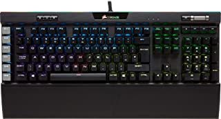 Corsair K95 RGB Platinum Tastiera Meccanica Gaming, Cherry MX Speed, Retroilluminato RGB, Italiano QWERTY, Nero