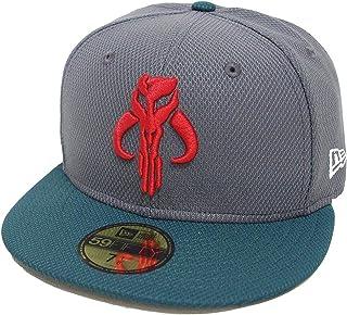 designer fashion 4098b 81cd0 Star Wars Boba Fett Mandalorian 59Fifty Fitted Hat