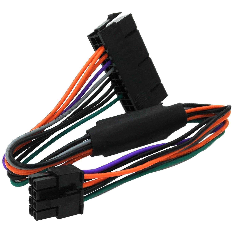 [SCHEMATICS_4LK]  Amazon.com: COMeap 24 Pin to 8 Pin ATX PSU Power Adapter Cable Compatible  with DELL Optiplex 3020 7020 9020 Precision T1700 12-inch(30cm): Computers  & Accessories   Dell 24 Pin Power Supply Wiring Diagram      Amazon.com