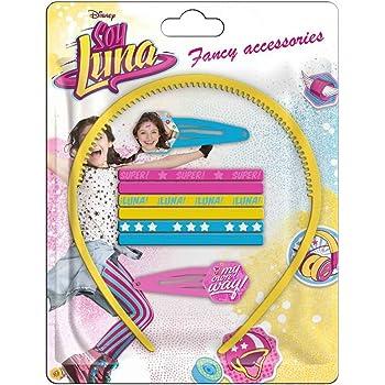 Soy Luna Sac Accessoires Cheveux 8 Pi/èces WDSL042 Disney