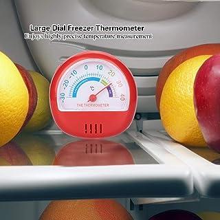 Thermomètre de congélateur, thermomètre à grand cadran, thermomètre de congélateur, durable pour la cuisine à la maison (r...