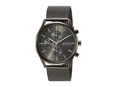 Skagen Holst Multi-Function Watch (SKW6608 Gunmetal Stainless Steel Mesh) Analog Watches