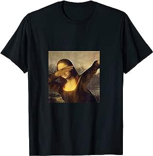 Dabbing mona lisa funny meme t shirt