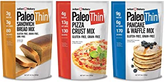Paleo Mix Variety 3 Pack (1 of Each: Paleo Pizza, Pancake, Bread Mix) (Gluten-Free)