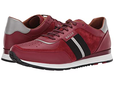 Bally New Aston Sneaker (Bally Red) Men