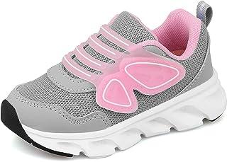 Zapatillas Deportivas Niñas Bambas Ligero Niña Tenis Velcro Nina Zapatos para Correr Niñas