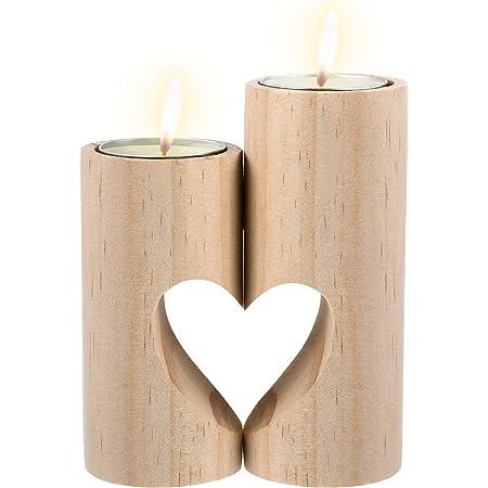 Slate heart tealight