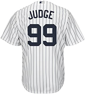 21121b01039b67 Outerstuff Aaron Judge New York Yankees #99 Youth Cool Base Home Jersey