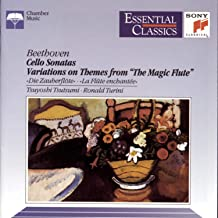 Beethoven: Cello Sonatas / Variations on Themes From the Magic Flute